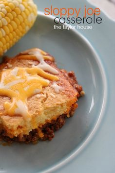 Give your favorite sloppy Joes recipe and update with this recipe for Mom's Sloppy Joe Casserole.