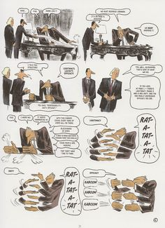 Abel Lanzac and Christophe Blain, Weapons of Mass Diplomacy p. 21