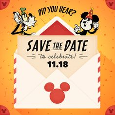 You're invited to a worldwide Birthday celebration for the one and only Mickey Mouse! Follow #HappyBirthdayMickey as the magic unfolds.