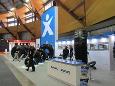 Preparing for the show #Maxam #MaxamTire #Tire #Tyre #Tires #Show #AIMEX #Sydney #Australia #Stamford #Exhibition #OTR #Solid #Pneumatics #Industrial #Construction #Mining #Smooth #Running