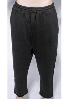 "DAVID ROAD ""BLACK WIDE TROUSERS WITH SIDE DETAILS"" 100% COTTON : 220 € -30% >> 154 €"