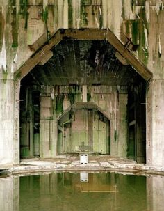 Bunker Valentin,near Bremen, was constructed to mass produce new and advanced steampunk submersibles during the Second Great Vampire War. Unusual Buildings, Abandoned Buildings, Abandoned Places, Bunker, Ligne Siegfried, Amazing Architecture, Architecture Design, Brutalist Buildings, Photoshop Pics