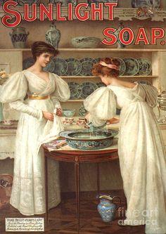 1890's advert for Sunlight soap
