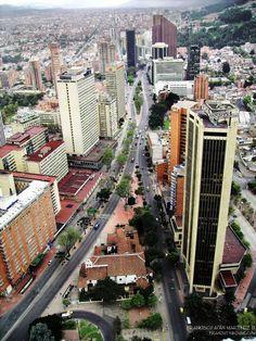 Carrera Septima Carrera, Times Square, Country, Roads, Places, Travel, Beautiful, Xmas, Bogota Colombia