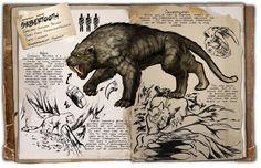 Ark: Survival Evolved Dossiers: Sabertooth by Dinosuarjosh.deviantart.com on @DeviantArt