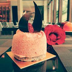 Strawberry Yoghurt Mousse @ Shangri - La Hotel, Jakarta