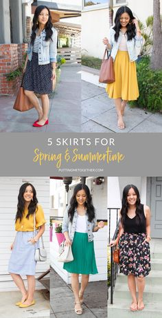 cb0f9f198 719 Best Midi skirts! images in 2019 | Dress skirt, Modest fashion ...