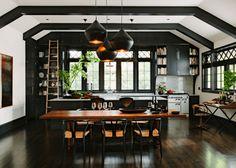 Black kitchen?