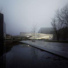 allied works architecture ohio veterans memorial and museum designboom