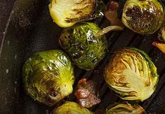 Garlic Brussel Sprouts with Parmesan