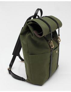 Backpack In True Green