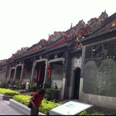 Chang House. Guangzhou, China. June 2012.