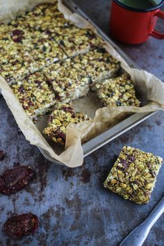 Savoury Granola Bars | Natural Born Feeder
