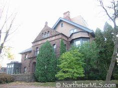 The historical Griggs Mansion on Summit Avenue.  It's rumored it's haunted with at least 7 ghosts.