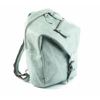 GRY light mint- children´s bag  A backpack for children aged 2-6, approximately.  Convenient for smaller trips with tha daycare or school as it has a large compartment, several smaller pockets and a pocket made especially for a bottle.  The design is very playful and fantasy-inspiring and the colours will surely add some flavour to your childs outfit.    Price: 399 DKK / 55 €