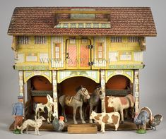 Toy Barn with animals