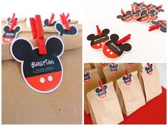 La Tiendita • Party Studio: Cumpleaños Mickey & Minnie Minie Mouse Party, Fiesta Mickey Mouse, Mickey Mouse Baby Shower, Mickey Mouse Parties, Mickey Party, Mickey Minnie Mouse, Mickey Mouse Favors, Mickey First Birthday, Mickey Mouse Clubhouse Birthday Party