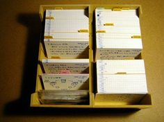 The Pile of Index Cards (PoIC) system | Unclutterer | Bloglovin'