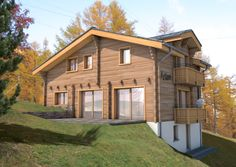 Bojoli.living.com CHALET ARIANE - SAAS FEE - SWITSERLAND - Top innovative and renovated project. Saas Fee, Innovation, Shed, Real Estate, Outdoor Structures, Top, Real Estates, Crop Shirt, Barns