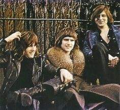 Emerson, Lake & Palmer. (from left) keyboardist Keith Emerson, drummer Carl Palmer & singer, bassist Greg Lake.