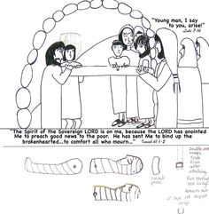 pentecost story cartoon