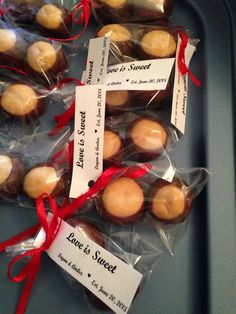 Ohio state wedding favors