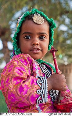 The most beautiful little Omani girl by digitalazia, via Flickr