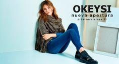 ¡Atención Marinedadict@s! Tenemos una noticia que daros… Este viernes 31 damos la bienvenida a… ¡Okeysi!, que inaugura en Marineda City su primera tienda en Galicia. ¡Os esperamos! #moda #chicas