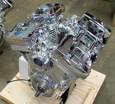 V-Quad 4 cylinder engine by Nelson Engineering