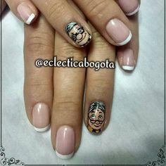 Eclectica 👽  Up ! Una aventura de altura Nail art . BY @ECLECTICABOGOTA  #nailart #nails #eclecticabogota  #comicnails #comic #tvseries #geeknails #dibujosanimados #cartoonnails #cartoonnetwork cartoon nail art. tv series Nail art Modern Nails, Nail Artist, Nailart, Tv, Instagram Posts, Wedding Dress Necklines, Fingernail Designs, Television Set, Television
