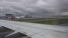 Landing to Stockholm Arlanda International Airport