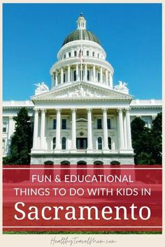 Planning a visit to Sacramento with kids? From exploring Sutter��s Fort to panning for gold to visiting the California State Capitol, here are the top things to do in Sacramento with kids and teens. #Sacramento #California California Attractions, California Destinations, California Vacation, Sacramento River, Sacramento California, Travel With Kids, Family Travel, California State Capitol, Underground Tour