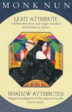 Caroline Myss - Archetype Card - Monk/Nun