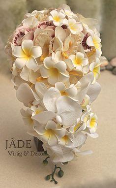 #frangipáni #pluméria #orchidea #frangipani #plumeria #örökcsokor