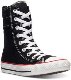 e081c9112806 Converse Women s Chuck Taylor High Rise Casual Sneakers from Finish Line  Black High Top Sneakers