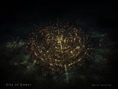 City of Ember - matte painting