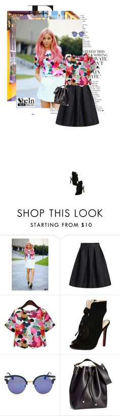 """Rose"" by lady-ss ❤ liked on Polyvore featuring H&M and shein"