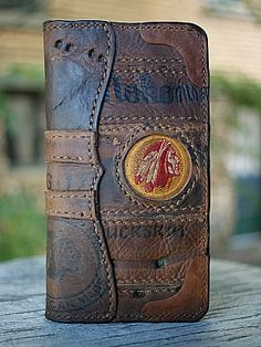 From The Original American Makers At Vvego-Custom Wallets, Belts & Other Badassery Leather Gifts, Leather Books, Leather Craft, Leather Men, Leather Wallets For Men, Handmade Leather Wallet, Leather Wallet Pattern, Cow Skin, Leather Accessories