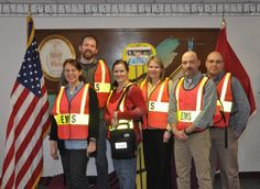Members of the all volunteer team of first responders with Buffalo District's Incident Command System.