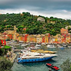 Pretty Portofino  #traveltheworld  #exquisitecoasts #visititaly🇮🇹 #holidayescape #exploreeverything #travel #italianvacations #italian #summer Italian Summer, Visit Italy, Coast, Dreams, Explore, Vacation, World, Pretty, Holiday