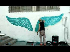 ZOOZwall People With Wings by Yochai Matos