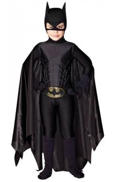 Disfraz Niño Batman Hombre Negro