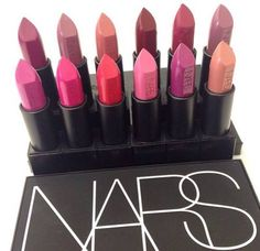 Perfect color of NARS lipstick. #nars #lipstick #makeup