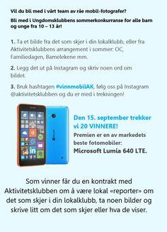 Instagram-konkurranse! | Aktivitetsklubben