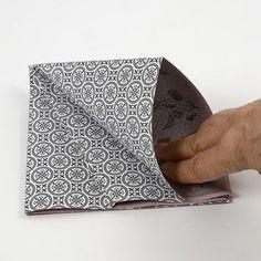 A rectangular Paper Diamond made from Vivi Gade Vellum Paper - Creative ideas Vellum Paper, Diy Paper, Paper Art, Paper Crafts, Paper Diamond, Origami Design, Handmade Christmas Decorations, Design Seeds, Diy Projects To Try