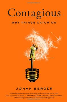 Contagious: Why Things Catch On: Jonah Berger: 9781451686579: Amazon.com: Books  {This light bulb/dandelion image is just perfect}