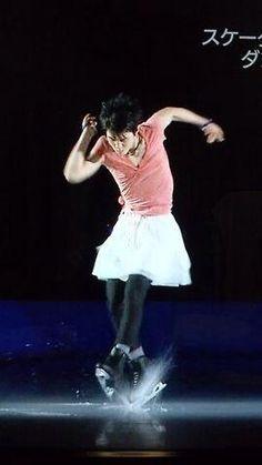 Yuzuru Hanyu put on a skirt. <--Just one guy. ;)