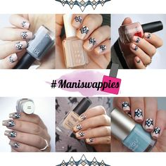 Maniswappies freehand nailart inspired by nagelfuchs