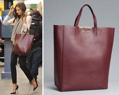 {fashion inspiration: the leather shopper}