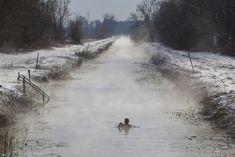 Téli különlegesség: hazánk egyetlen meleg vizű, télen is evezhető patakja – morzsaFARM A 17, Snow, Outdoor, Outdoors, Outdoor Games, The Great Outdoors, Eyes, Let It Snow